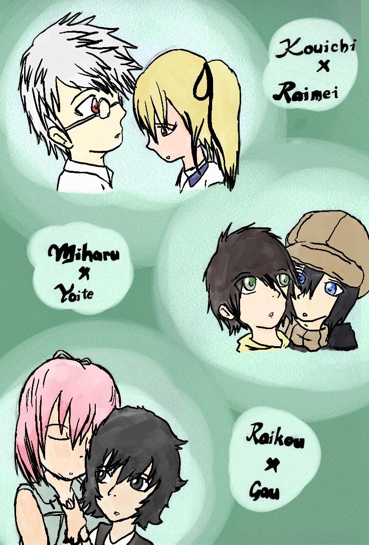 Nabari No Ou Miharu And Raimei Favorite NnO Pairings ...