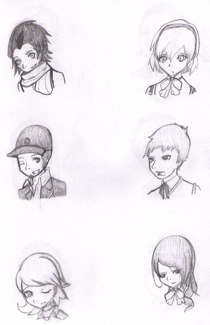 Persona Practice 1 by bloomacnchez