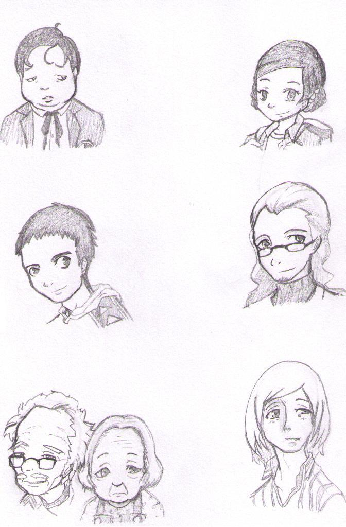 Persona Practice 3 by bloomacnchez