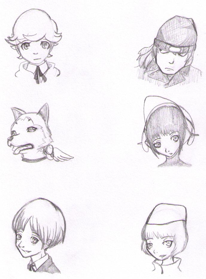 Persona Practice 4 by bloomacnchez