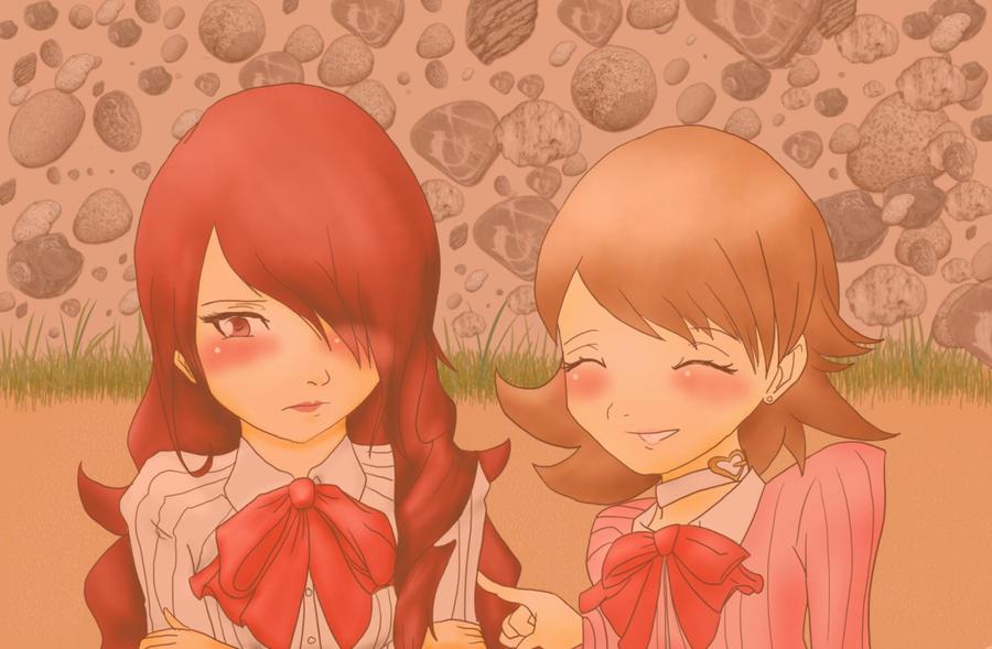 FRI: Liar MitsuruXYukari by bloomacnchez