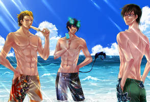 Ao no Exorcist -Summer Break-