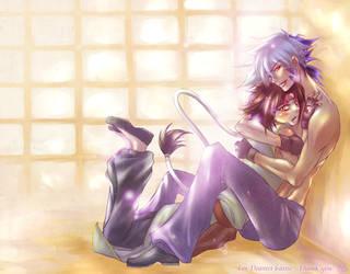 Tight Hugs - Kai x Rei by Rin-Shiba