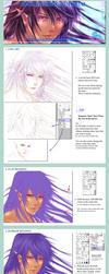 Hair Colouring Tutorial - my way by Rin-Shiba