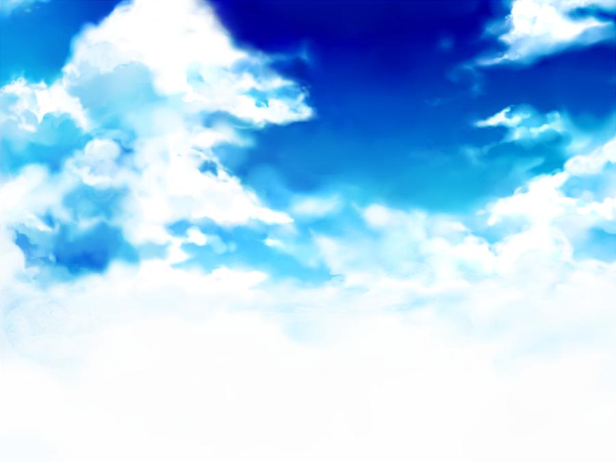 Sky stock 1 - free by Rin-Shiba