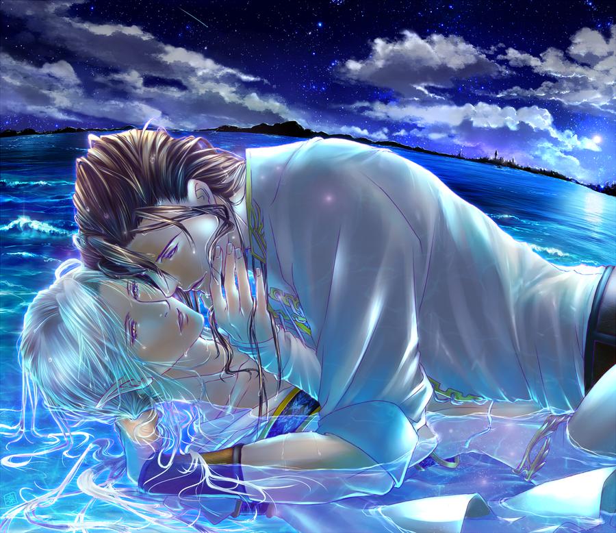 Midnight Kiss by Rin-Shiba