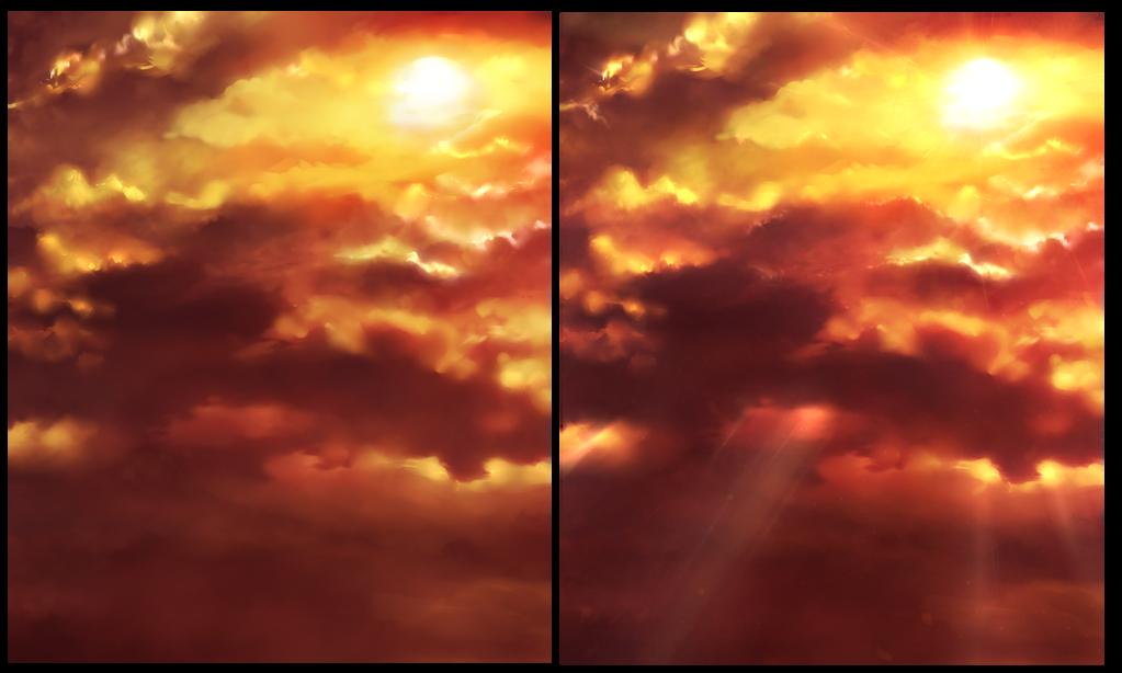 FREE - Sunset Background image 4 by Rin-Shiba