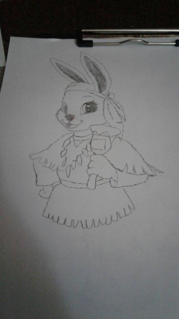 Bunny  by Skylarchyenne