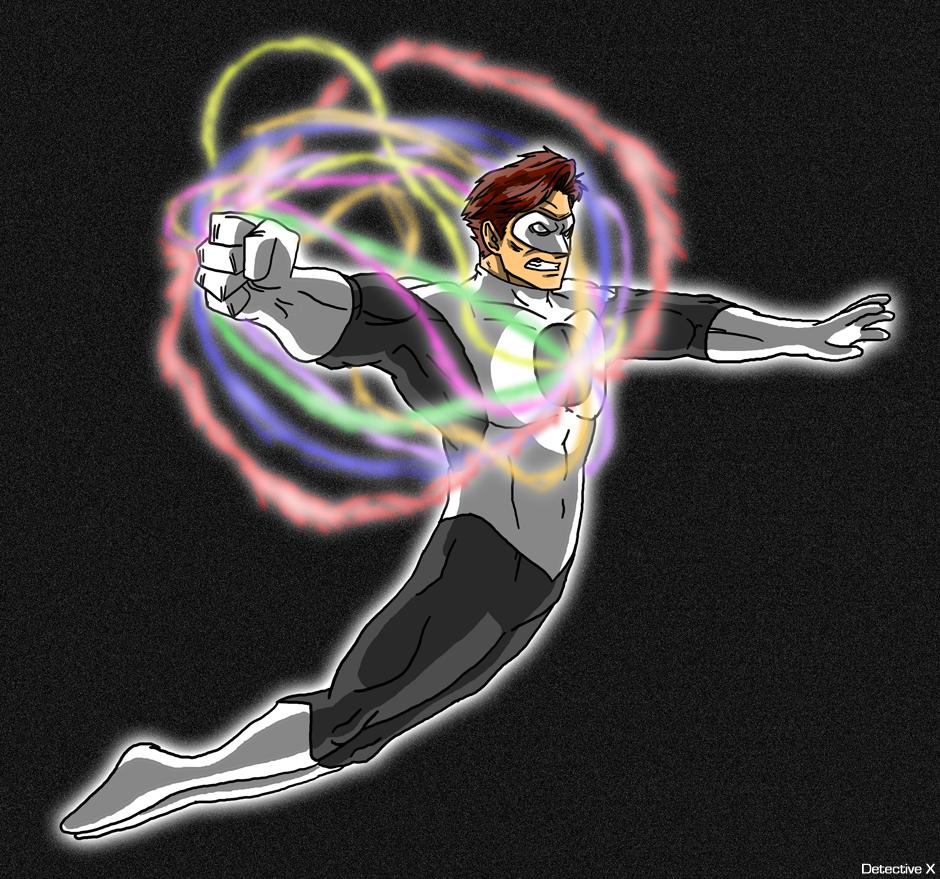 Hal Jordan - The White Lantern by DetectiveX