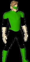 Hal Jordan 3D - WIP by DetectiveX