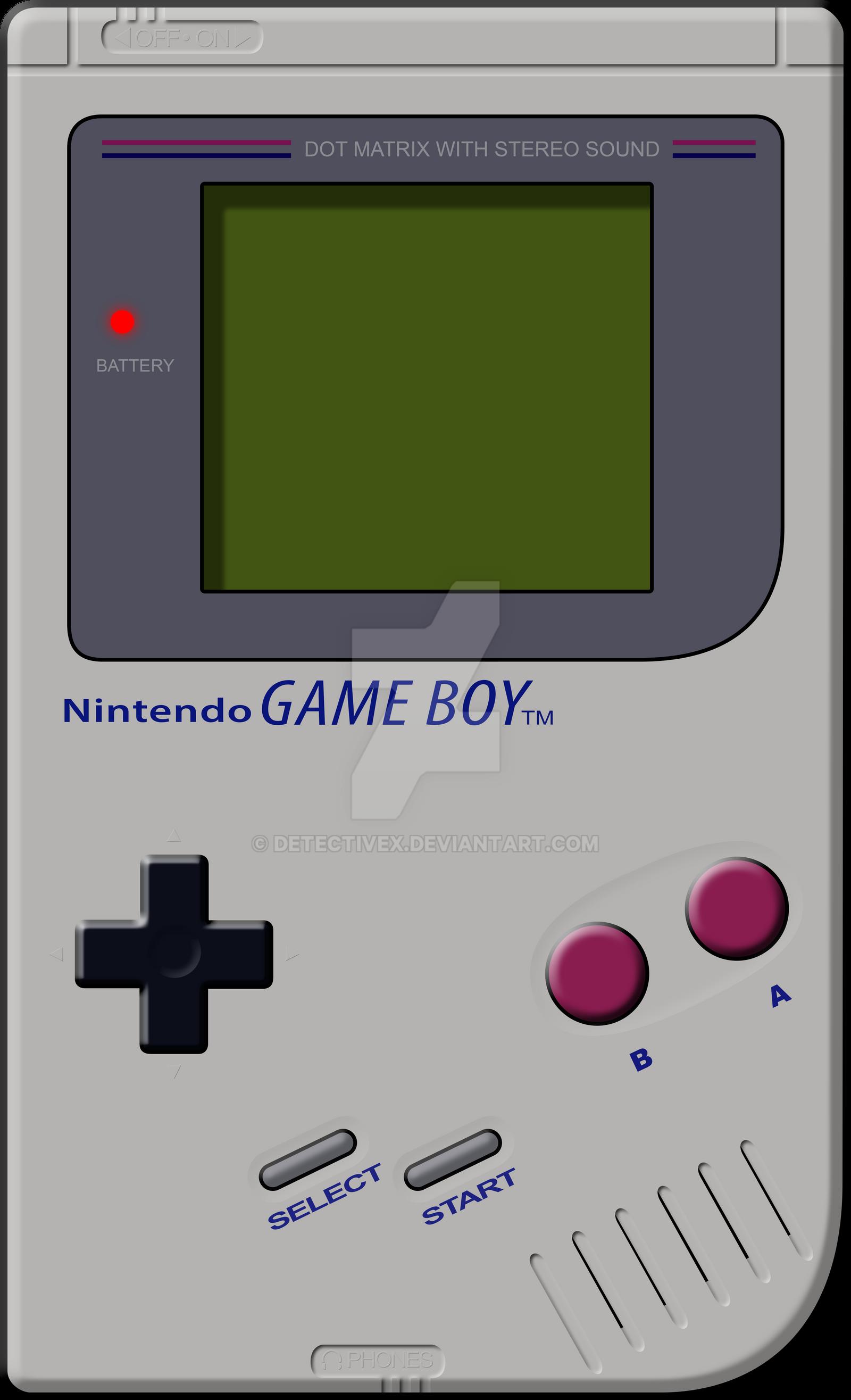 Game Boy Vector by DetectiveX
