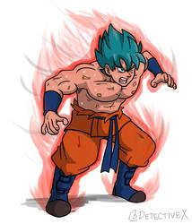 Super Saiyan Blue Kaiou-ken
