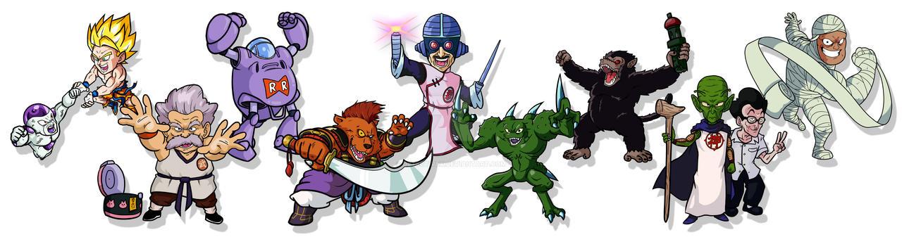 Various Dragon Ball Characters