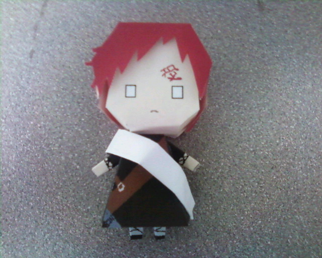 Paper Doll: Gaara by Innocently-Creating
