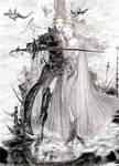Final Fantasy V by Amano