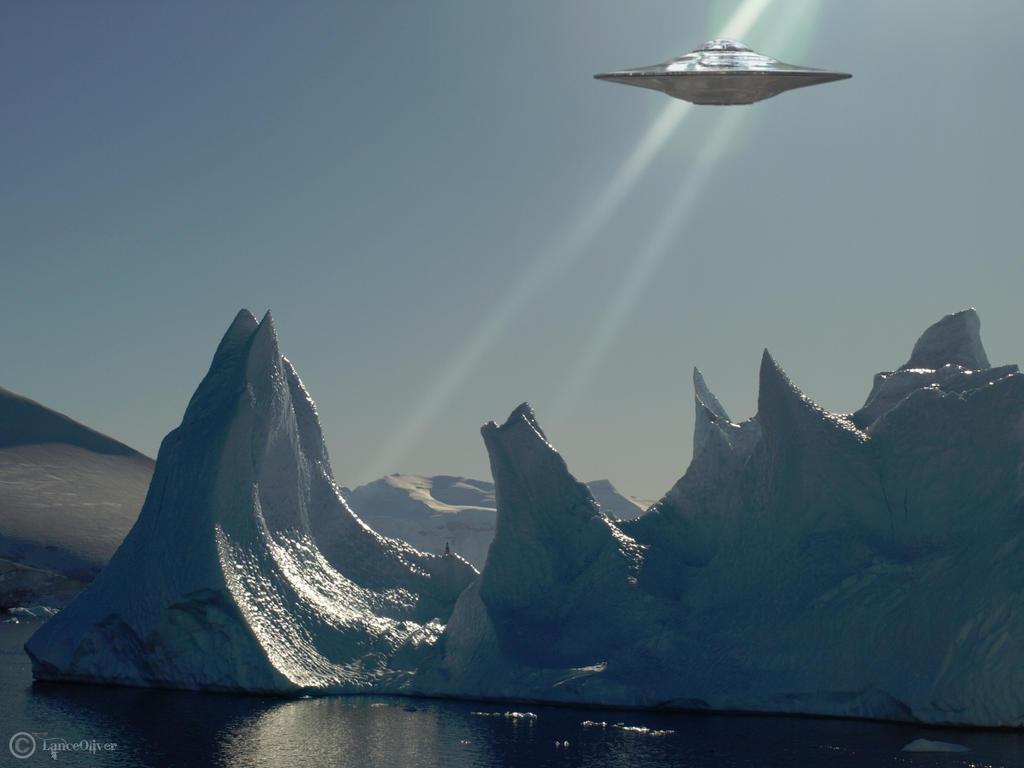 Iceberg UFO by OliverInk