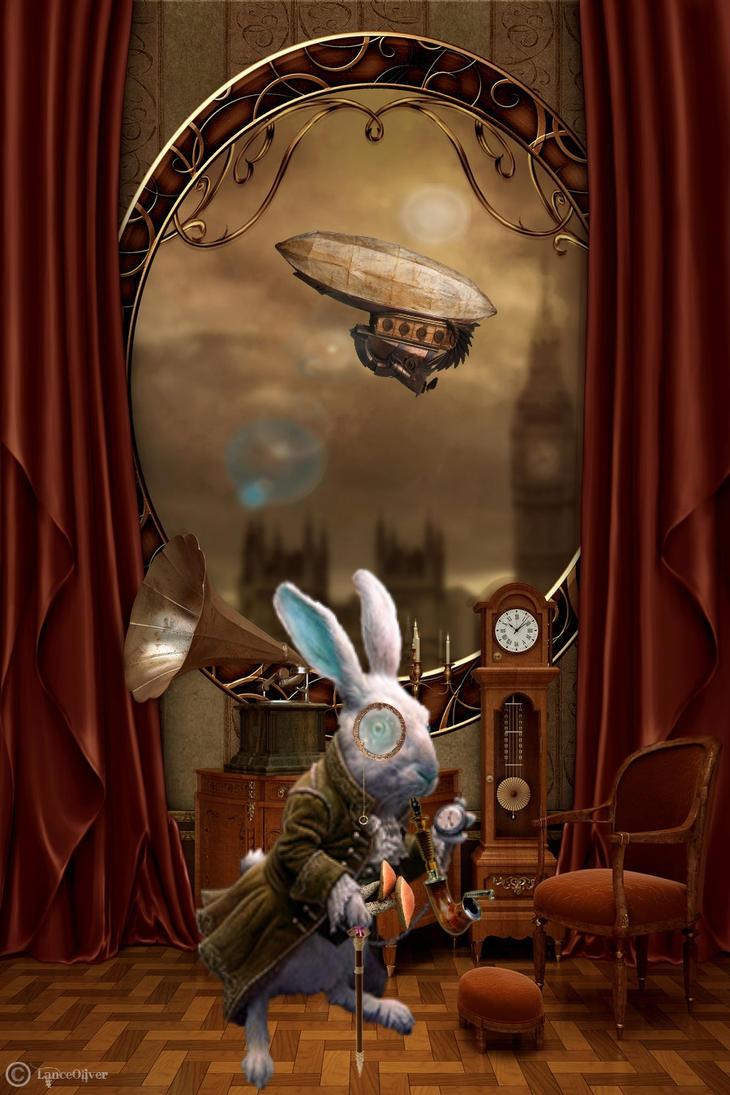 Time... Anthro Steampunk AC #141 by orbhunterx