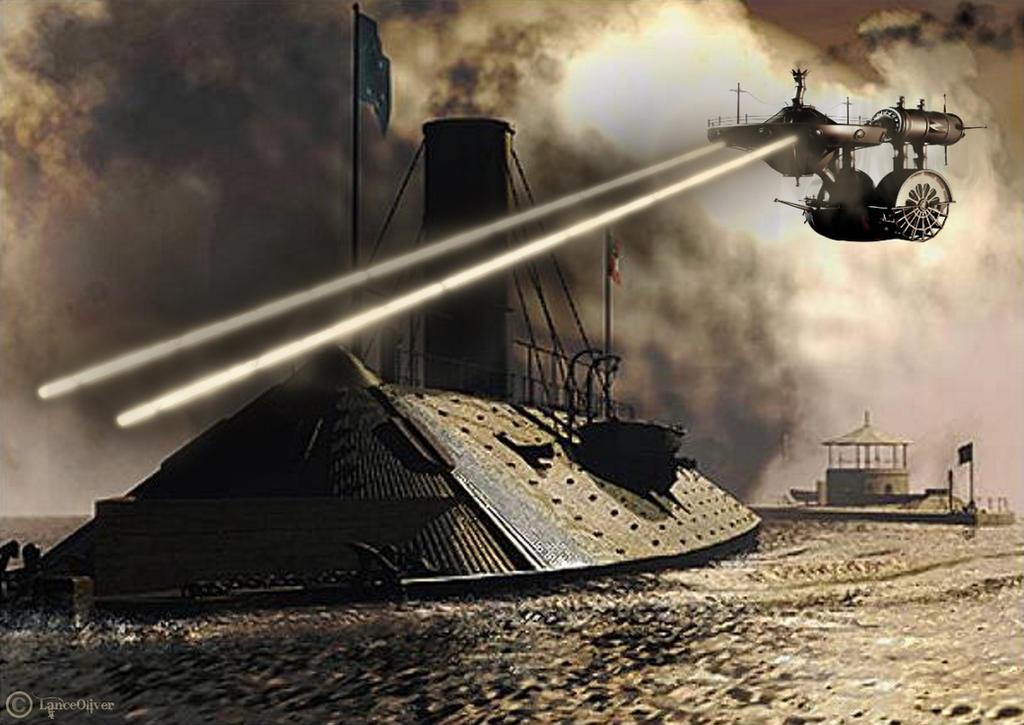 Steampunk Enterprise by orbhunterx