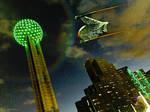 Romulan Over Dallas!