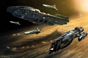Battlestar Strike Force!