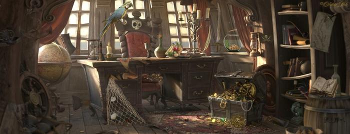 Hidden Things 3: Pirate Cabin