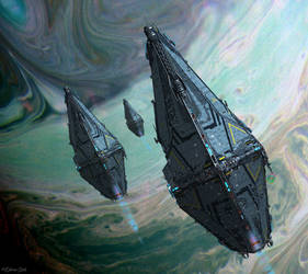 Empire Saturn by OliverInk