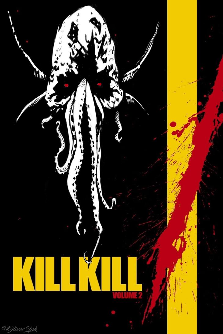 Kill Kill by OliverInk