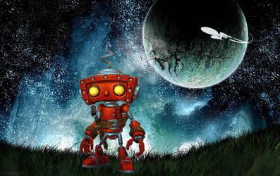 Bad Robot by OliverInk