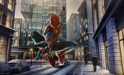 Mr. Spider by OliverInk