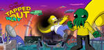 The Simpsons: Tapped Way Out by OliverInk