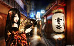 Geisha Alley by OliverInk