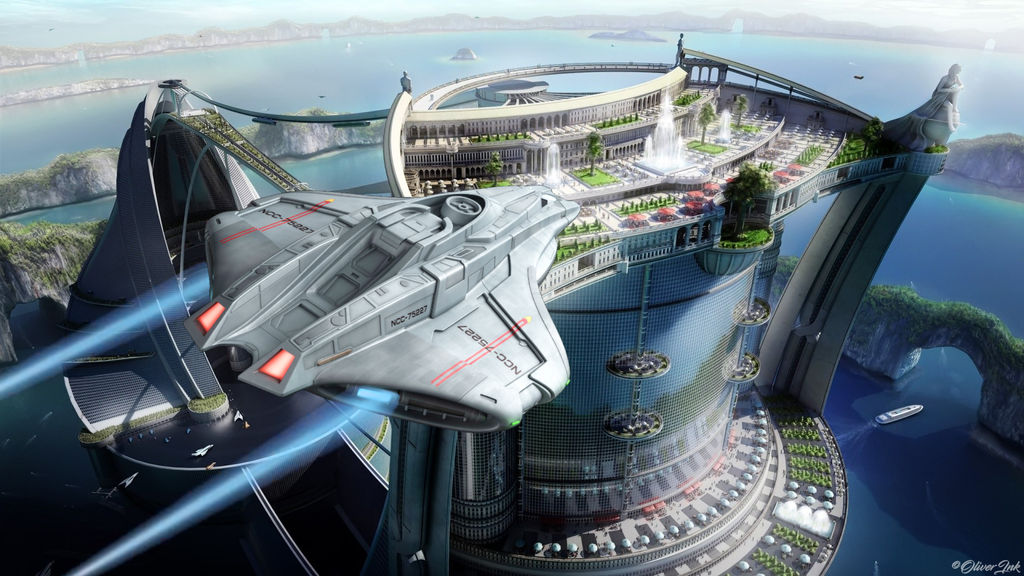Starbase Eutopia by OliverInk