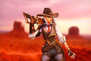 Calamity Ashe by OliverInk