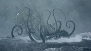Kraken's Arms by OliverInk
