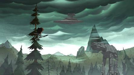 Gravity Falls Wars by OliverInk