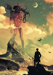 Wanderer Of The Misty Dreamlands
