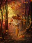 Autumn's Crossroad
