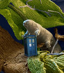 Tardigrade's Tardis Trouble by OliverInk