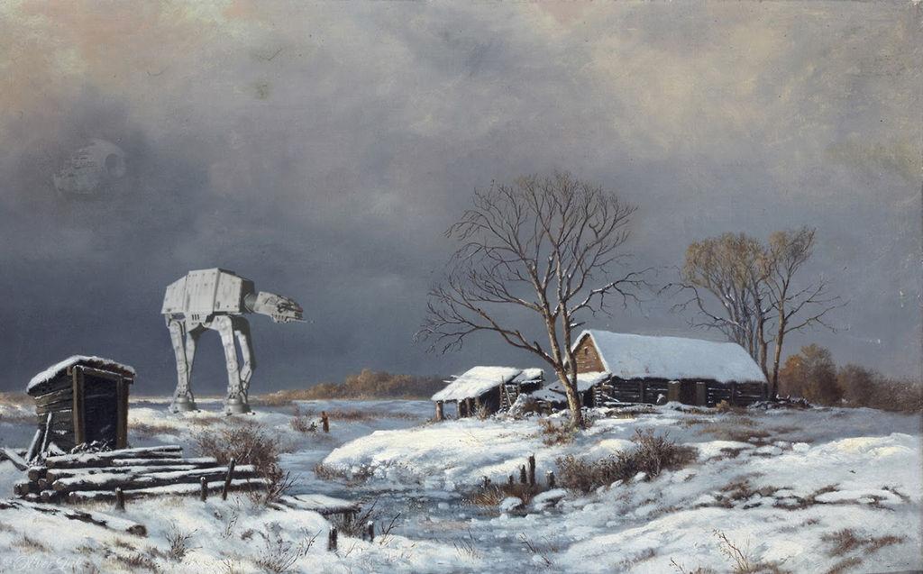 A Cold Winter's Walk