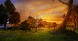 Buckeep sunset