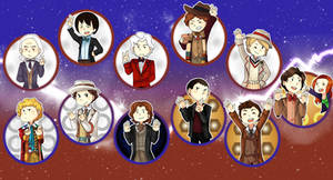 The Doctor With Eleven Faces