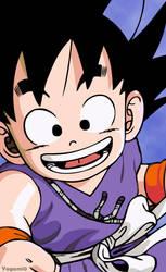 Goku Vector by Yagami0