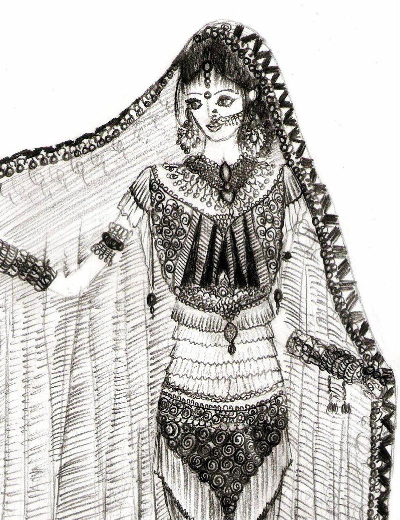 Indian Lehenga By Monikasingh On Deviantart