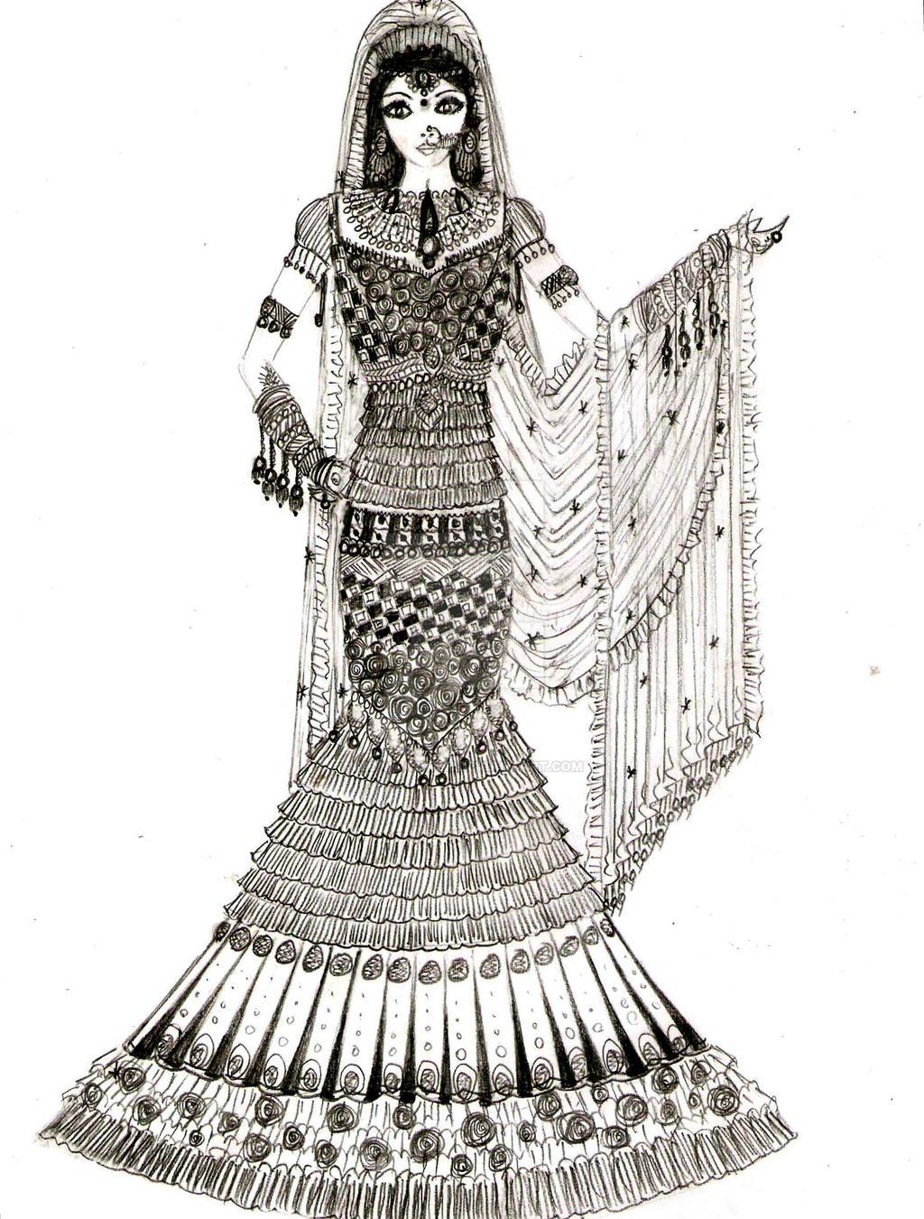 Indian Bridal Lehenga By Monikasingh On Deviantart