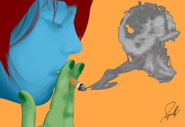 Smoke by wormholocaust