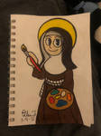 St Catherine of Bologna by TheNamesEllen