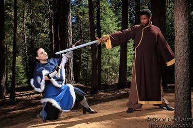 Avatar : Warrior Training by sheilkuroi