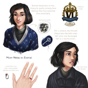 Notes on Sabriel