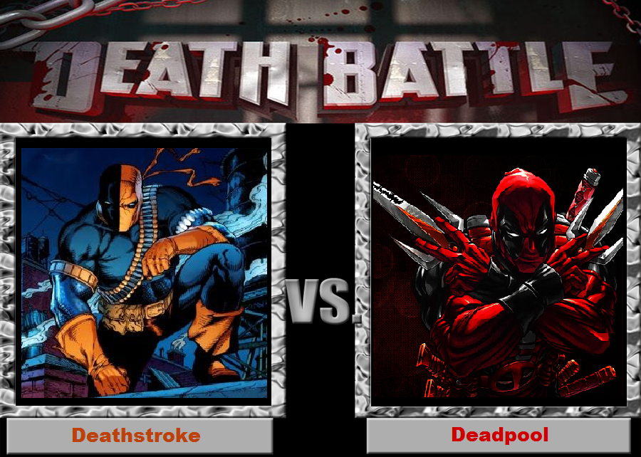 Death Battle-(Fan)-Deathstroke vs. Deadpool by XPvtCabooseX
