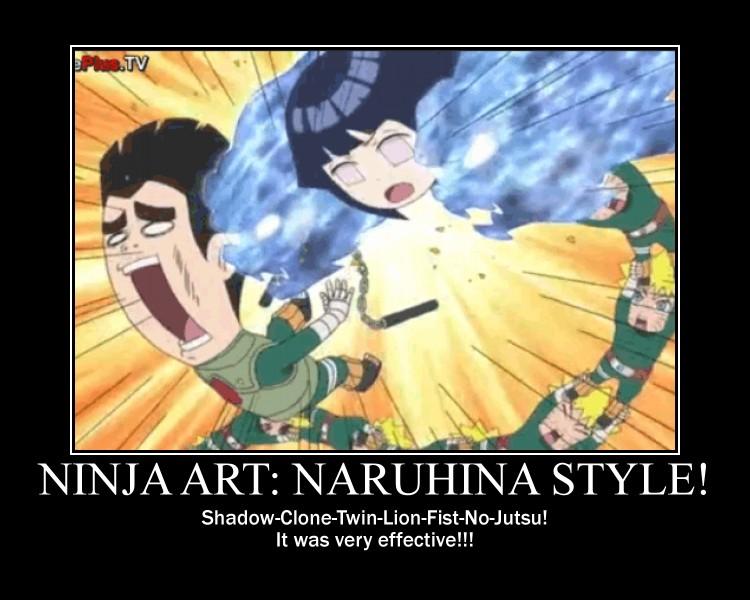 Ninja Art: NaruHina Style!-(Poster) by XPvtCabooseX